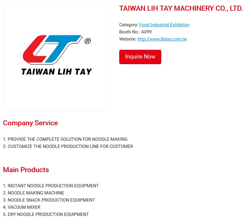 Customize and tailor the noodle and food machines for your