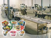 Bowl (Cup) Instant Noodle Production Line