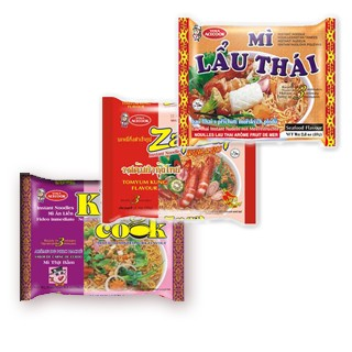 Bags of Instant Non-Folded Noodles -  | Bag Instant Noodle Production (Non-Folded Noodles)