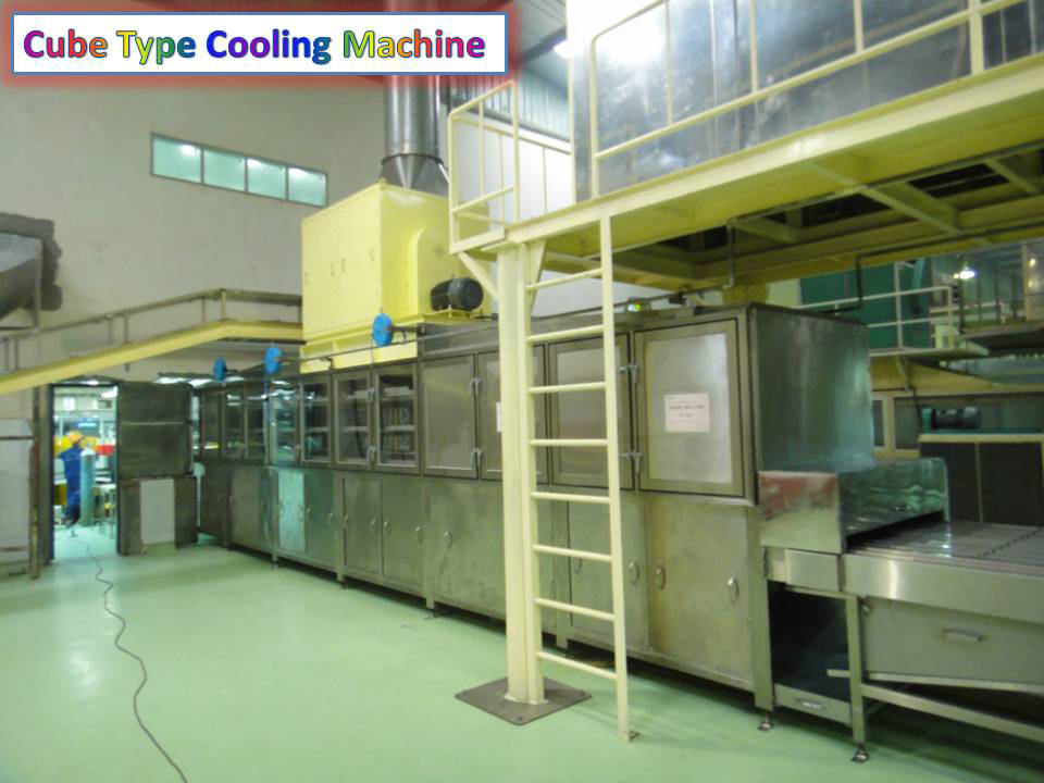 Cube Type Cooling Machine